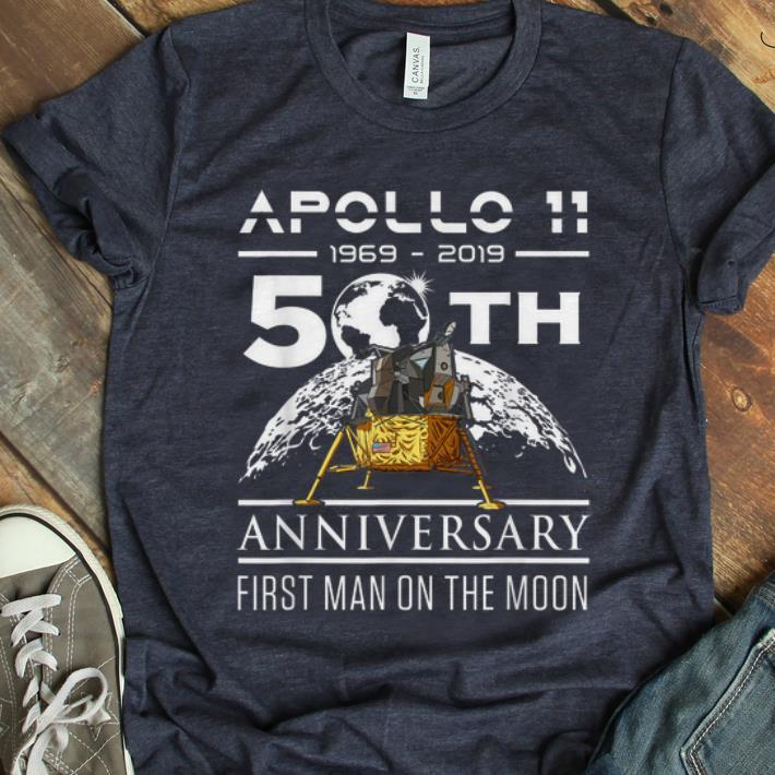 Premium American Apollp 11 Lunar Module 1969 2019 50th Anniversary First Man On The Moon Shirt 1 1.jpg