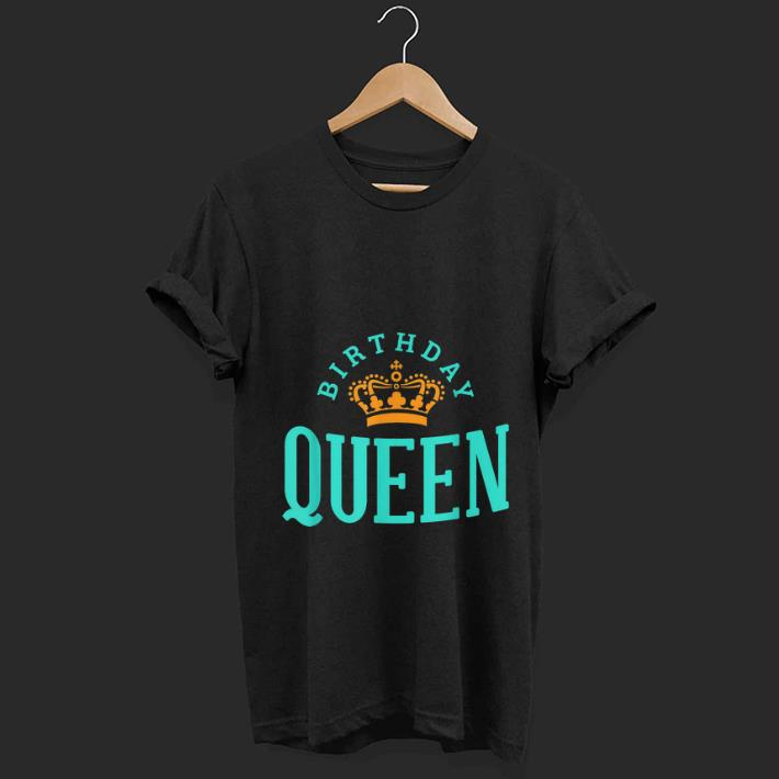 Premium Birthday Crown Queen shirt