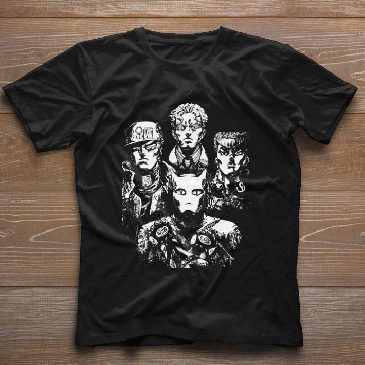 Premium JoJo's bizarre adventure Rivalry Bohemian Rhapsody Queen shirt