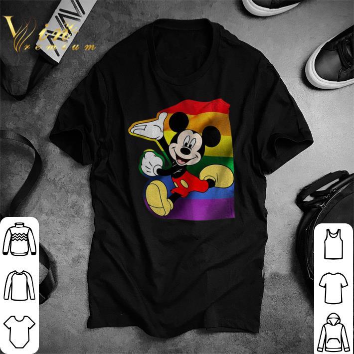 Premium LGBT Mickey Mouse shirt