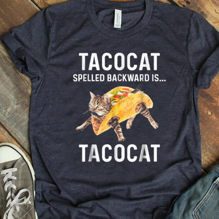Premium Tacocat Spelled Backward Is Tacocat shirt
