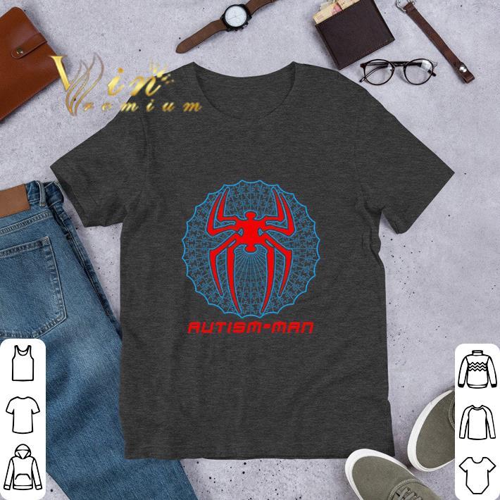 Pretty Autism-man Spider Man shirt