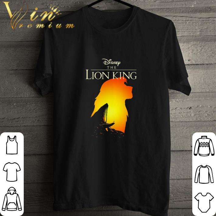 Pretty Disney The Lion King Simba sunset shirt