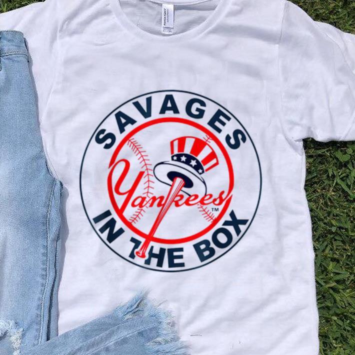 Pretty Savages In The Box Yankees Baseball shirt