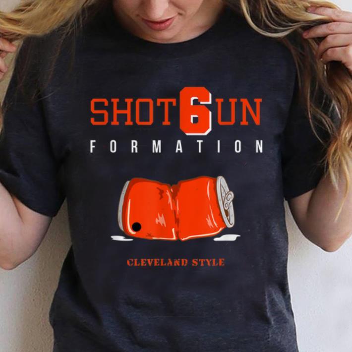 Pretty Shot6un Formation Cleveland Style shirt