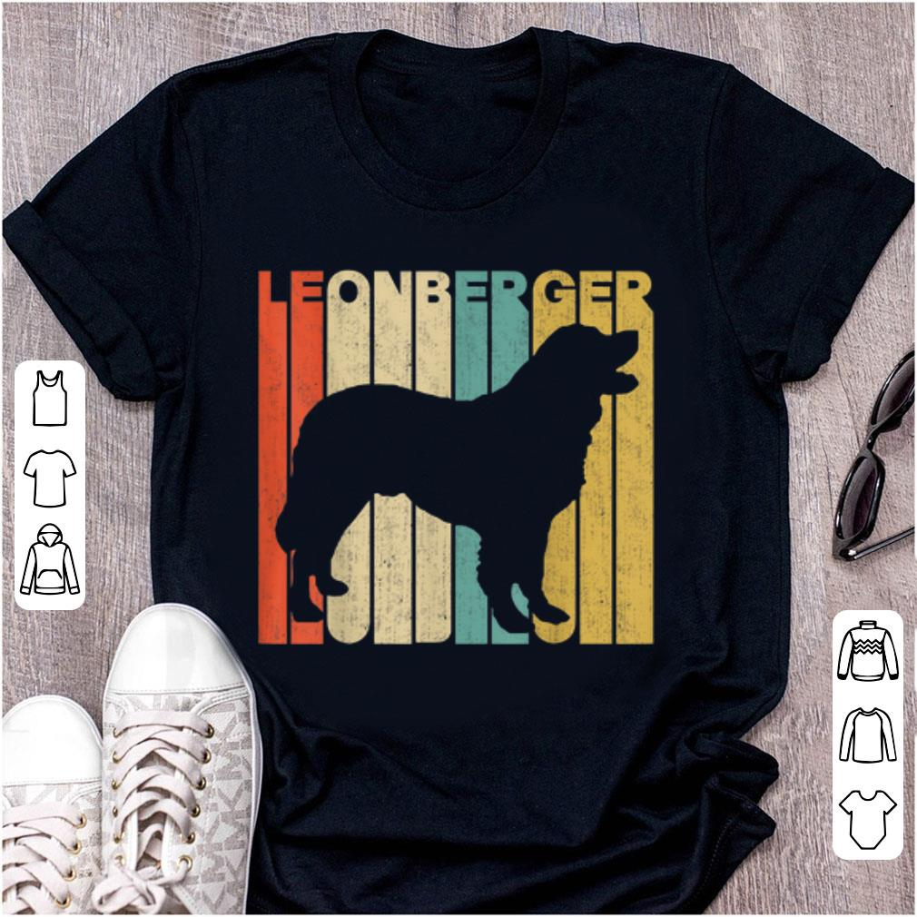 Pretty Vintage Leonberger Silhouette shirt 1 - Pretty Vintage Leonberger Silhouette shirt