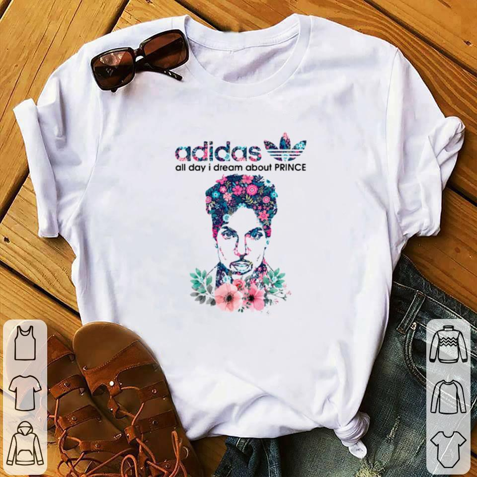 Pretty adidas all day I dream about Prince Rogers Nelson shirt