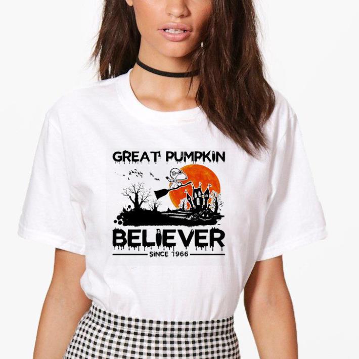 Snoopy Great pumpkin believer since 1966 halloween shirt Snoopy Great pumpkin believer since 1966 halloween shirt