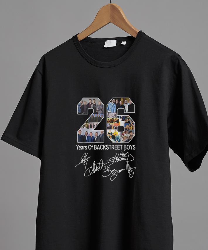 Backstreet Boys Christmas Sweater.Top 26 Years Of Backstreet Boys Signature Shirt