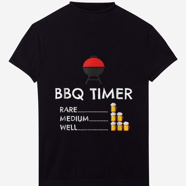 Top BBQ Timer Barbecue shirt