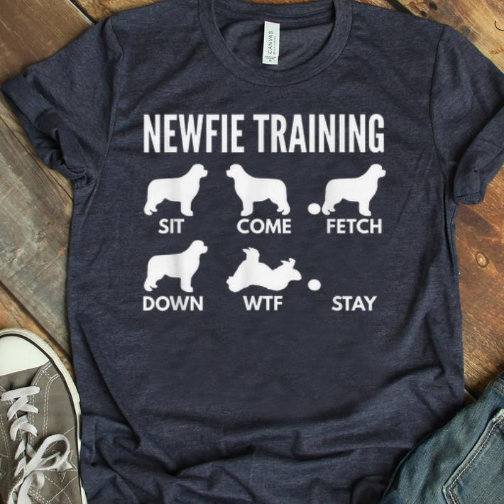 Top Newfie Training Newfoundland Dog Tricks shirt 1 - Top Newfie Training Newfoundland Dog Tricks shirt