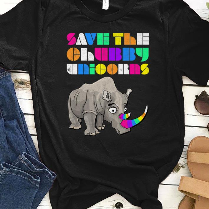 Top Save The Chubby Unicorns Rainbow shirt 1 - Top Save The Chubby Unicorns Rainbow shirt