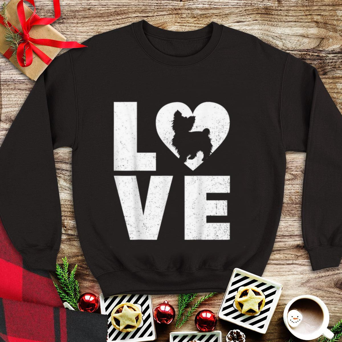Top Shih Poo Dog in Heart Love shirt