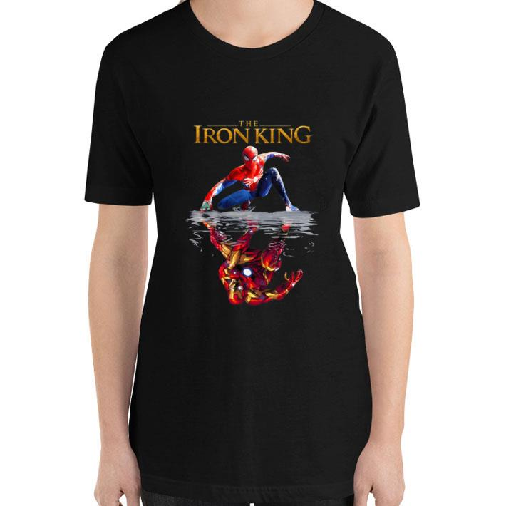 Top The Iron King Spider Man reflection Iron Man The Lion King 2019 shirt