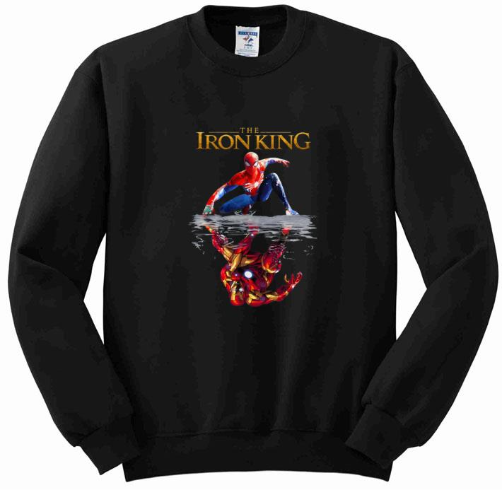 Top The Iron King Spider Man reflection Iron Man The Lion King 2019 shirt 4 - Top The Iron King Spider Man reflection Iron Man The Lion King 2019 shirt