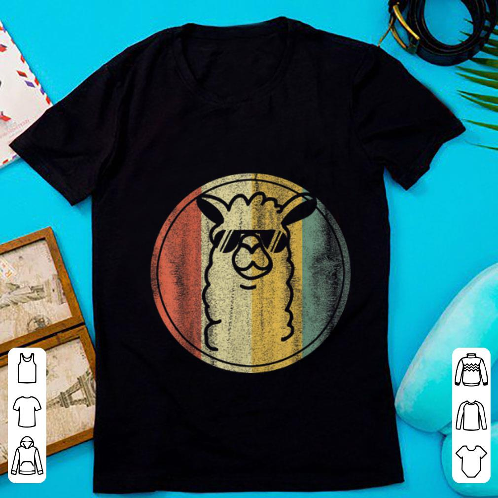 Top Vintage kein Prob Lama Alpaka shirt