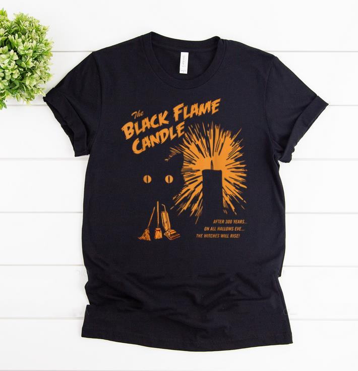 Awesome Black Flame Candle After 300 Years Halloween shirts