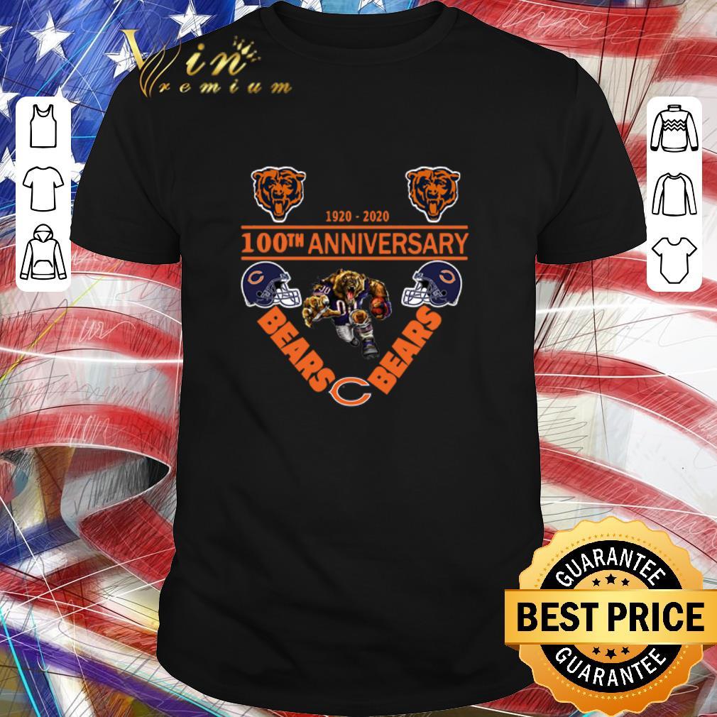 Awesome Chicago Bears 1920 2020 100th Anniversary Shirt 1 1.jpg