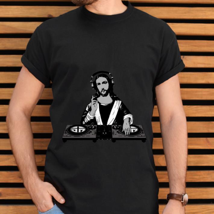 Awesome Dj Jesus Christian shirt