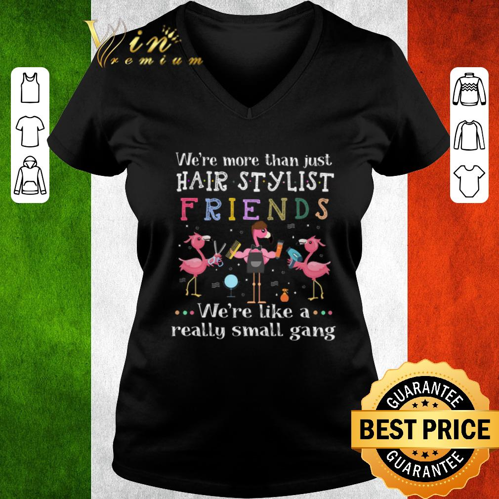 Awesome Flamingos we're more than just hair stylist friends we're like a shirt