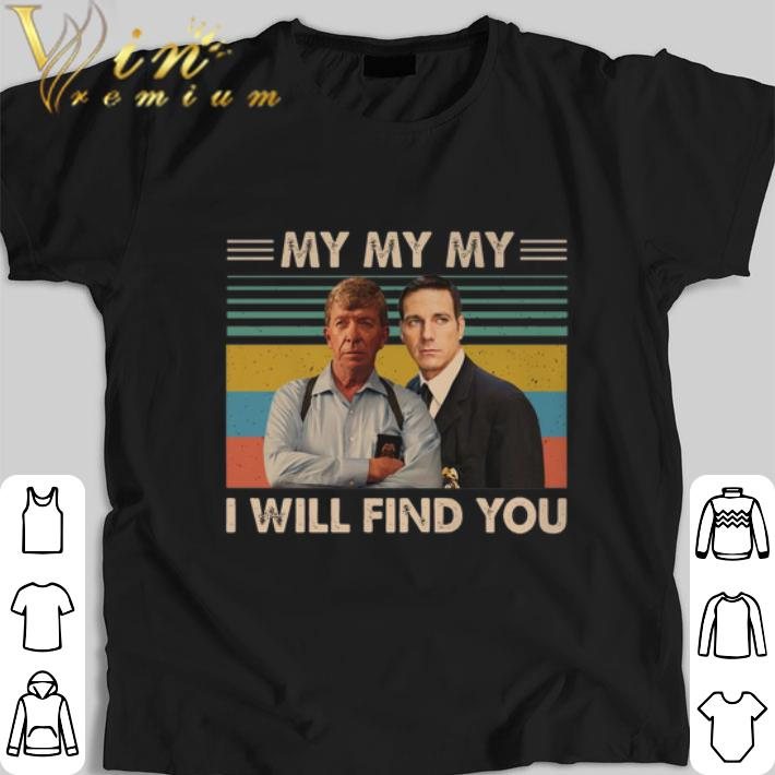 Awesome Joe Kenda and Carl Marino my my my i will find you vintage shirt