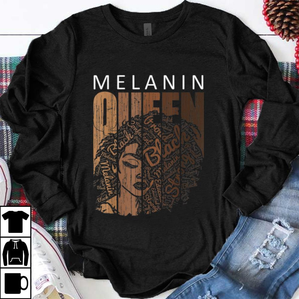 Awesome Melanin Queen African American Strong Black shirt 1 - Awesome Melanin Queen African American Strong Black shirt