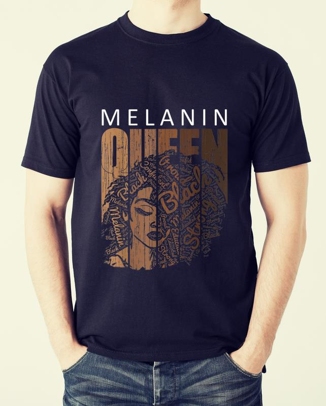 Awesome Melanin Queen African American Strong Black shirt