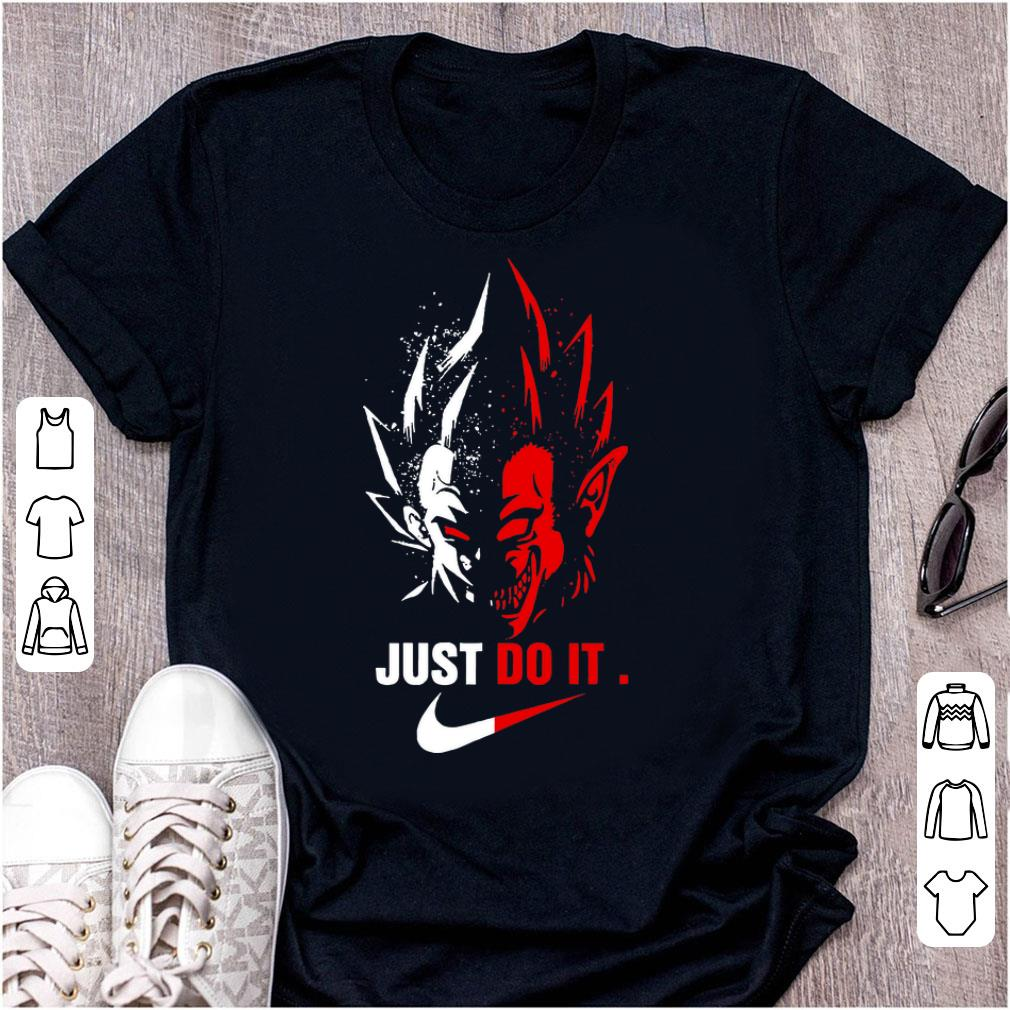 Awesome Nike Just Do It Vegeta shirt