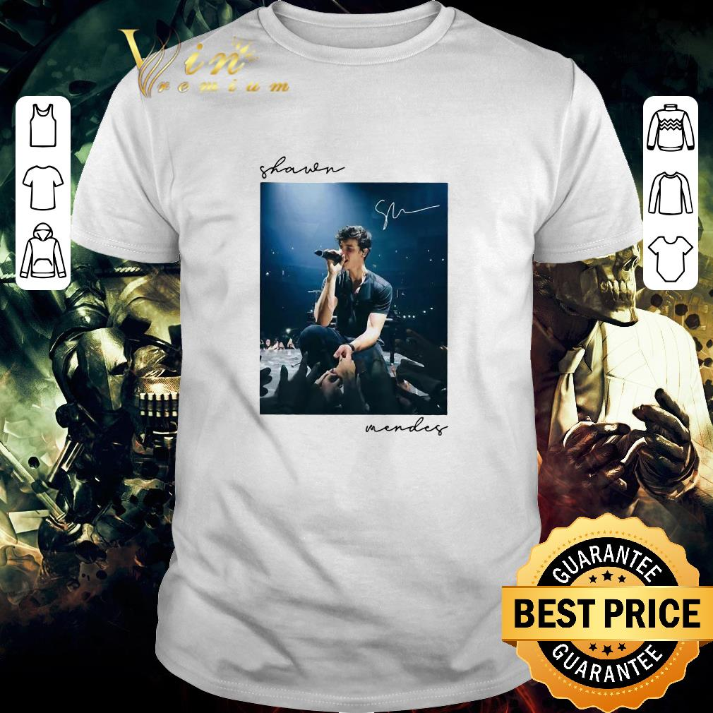 Awesome Shawn Mendes signature shirt