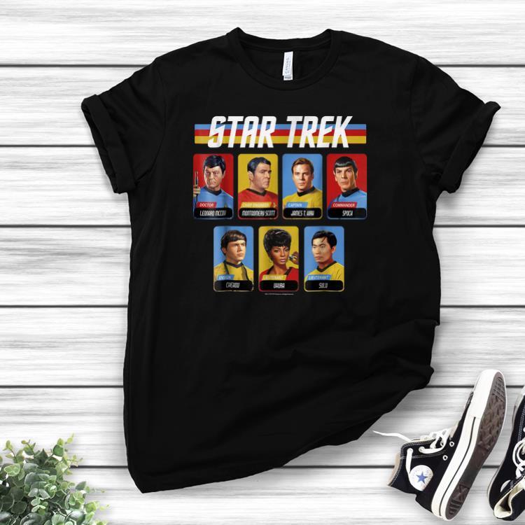 Awesome Star Trek Original Series Crew Retro Rainbowshirts