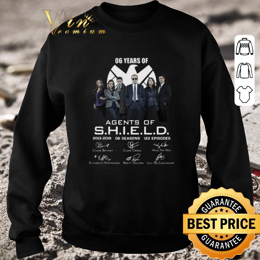 Hot 06 years of Agents Of SHIELD 2013 2019 06 seasons signatures shirt 4 - Hot 06 years of Agents Of SHIELD 2013-2019 06 seasons signatures shirt