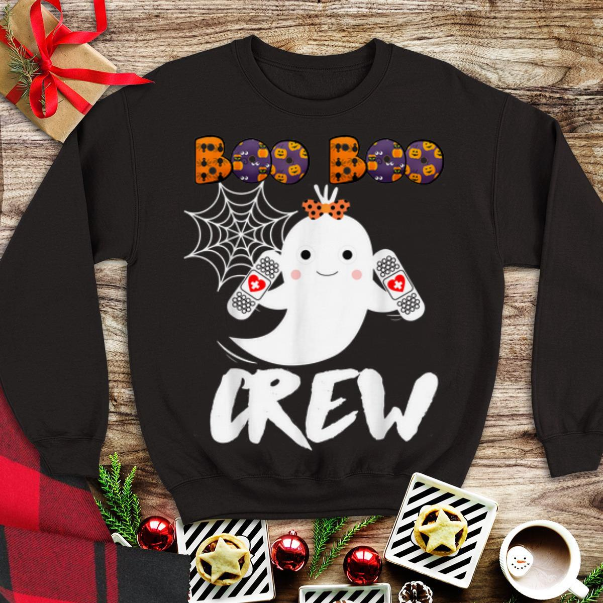Hot Boo Boo Crew Nurse Cute Halloween Costume shirt