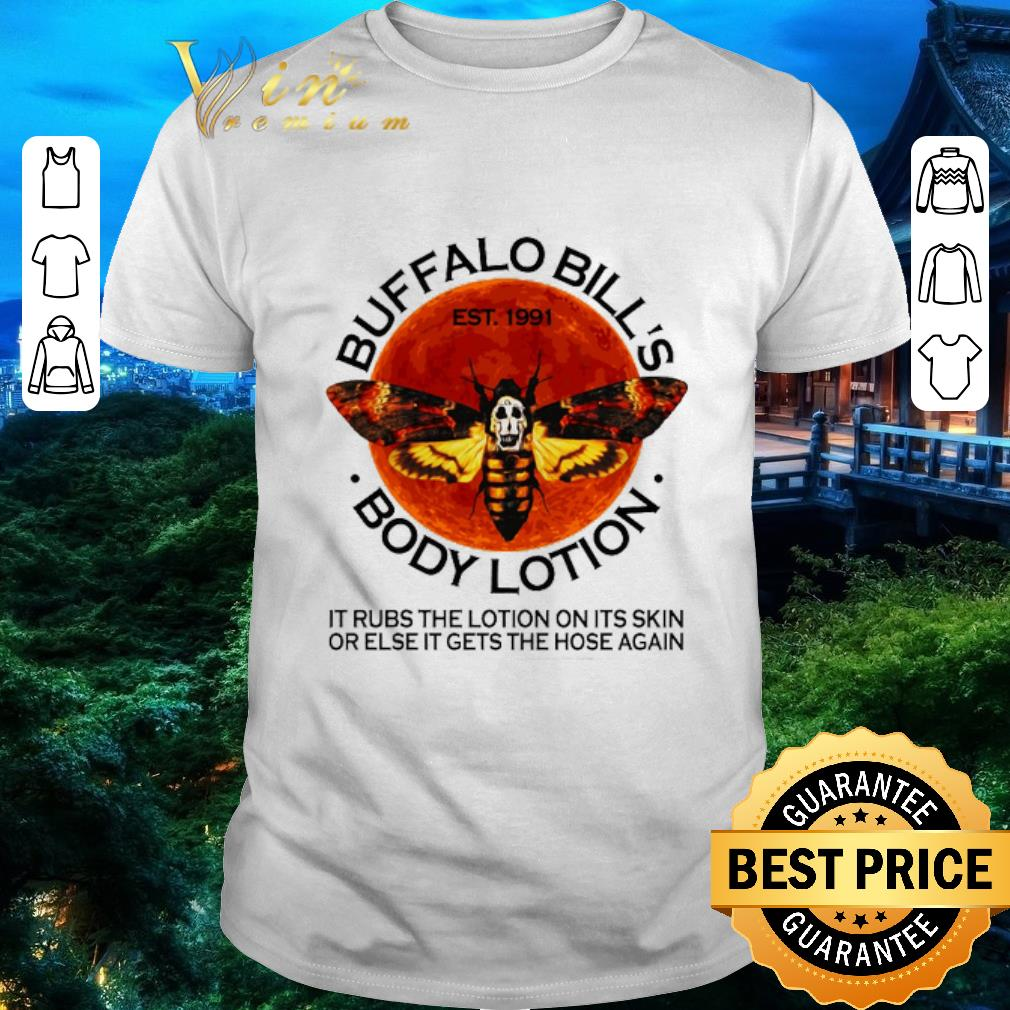 Hot Buffalo Bill S Est 1991 Body Lotion It Rubs The Lotion Sunset Shirt 1 1.jpg