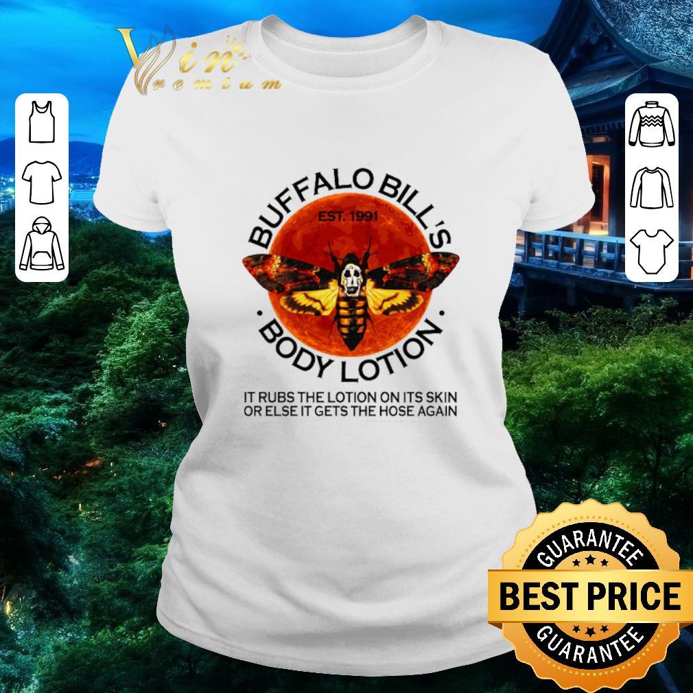 Hot Buffalo Bill S Est 1991 Body Lotion It Rubs The Lotion Sunset Shirt 2 1.jpg