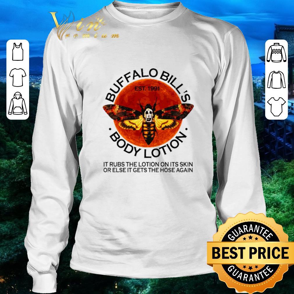 Hot Buffalo Bill S Est 1991 Body Lotion It Rubs The Lotion Sunset Shirt 3 1.jpg