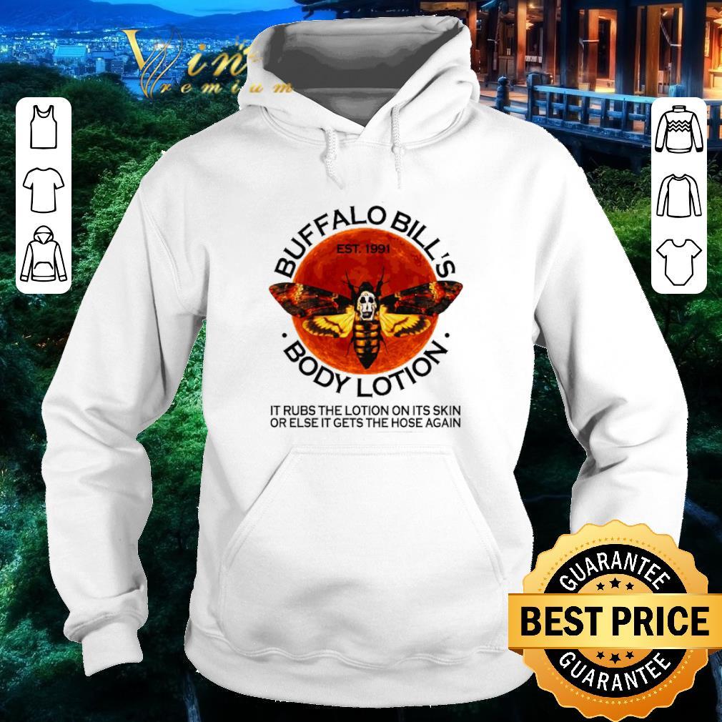 Hot Buffalo Bill's est. 1991 body lotion it rubs the lotion sunset shirt
