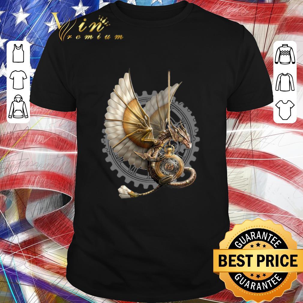 Hot Cyber dragon machine shirt