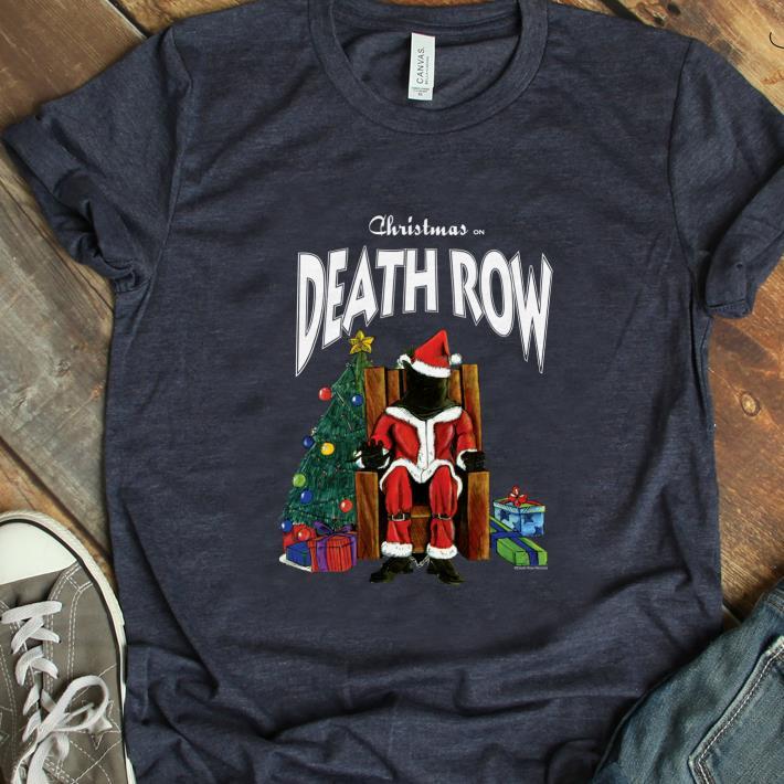 Hot Death Row Records Christmas shirt