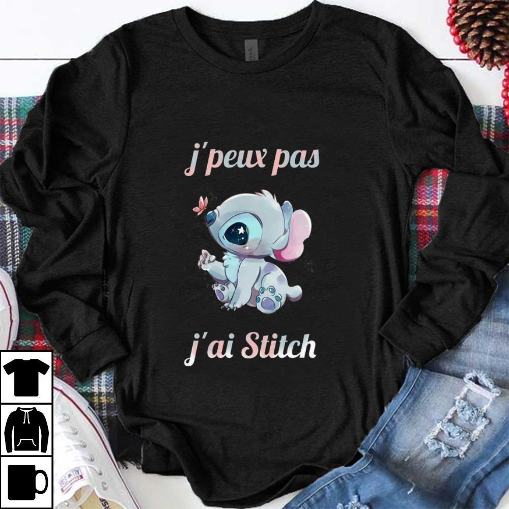 Hot J'peux Pas J'ai Stitch shirt