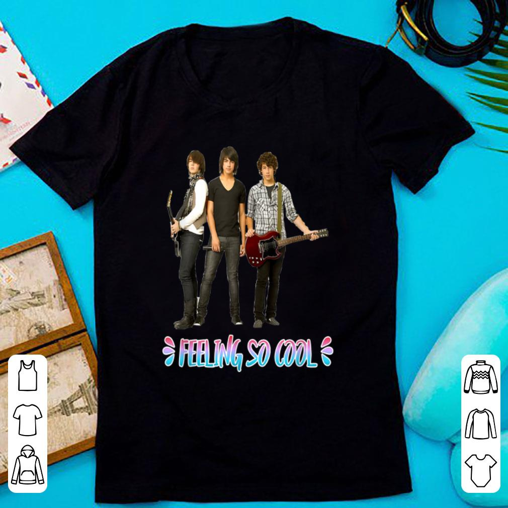 Hot Tour Music - I Feel So Cool Happiness Jonas Brothers shirt