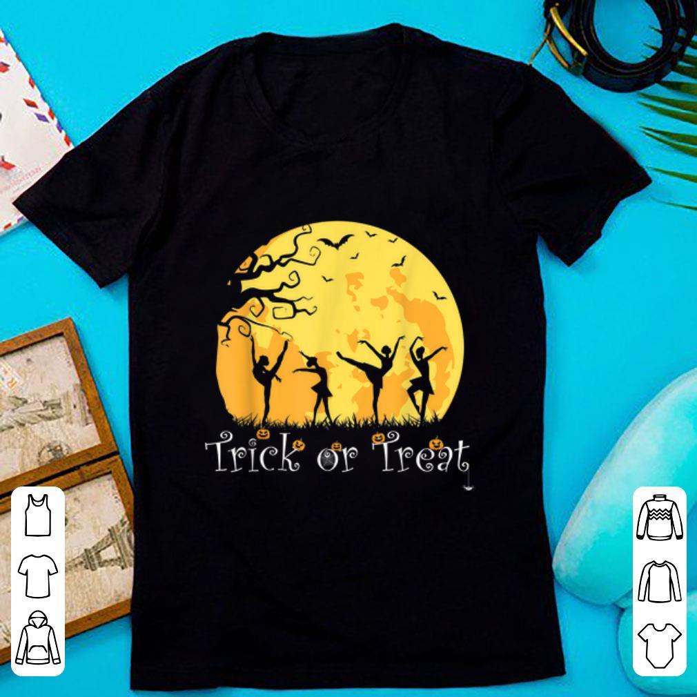 Hot Trick Or Treat Ballet Dancer Dancing Halloween shirt 1 - Hot Trick Or Treat - Ballet Dancer Dancing Halloween shirt