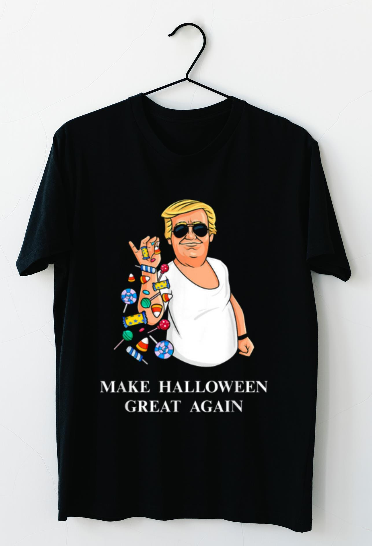 Hot Trump Bae Halloween Candy Salt Funny shirt