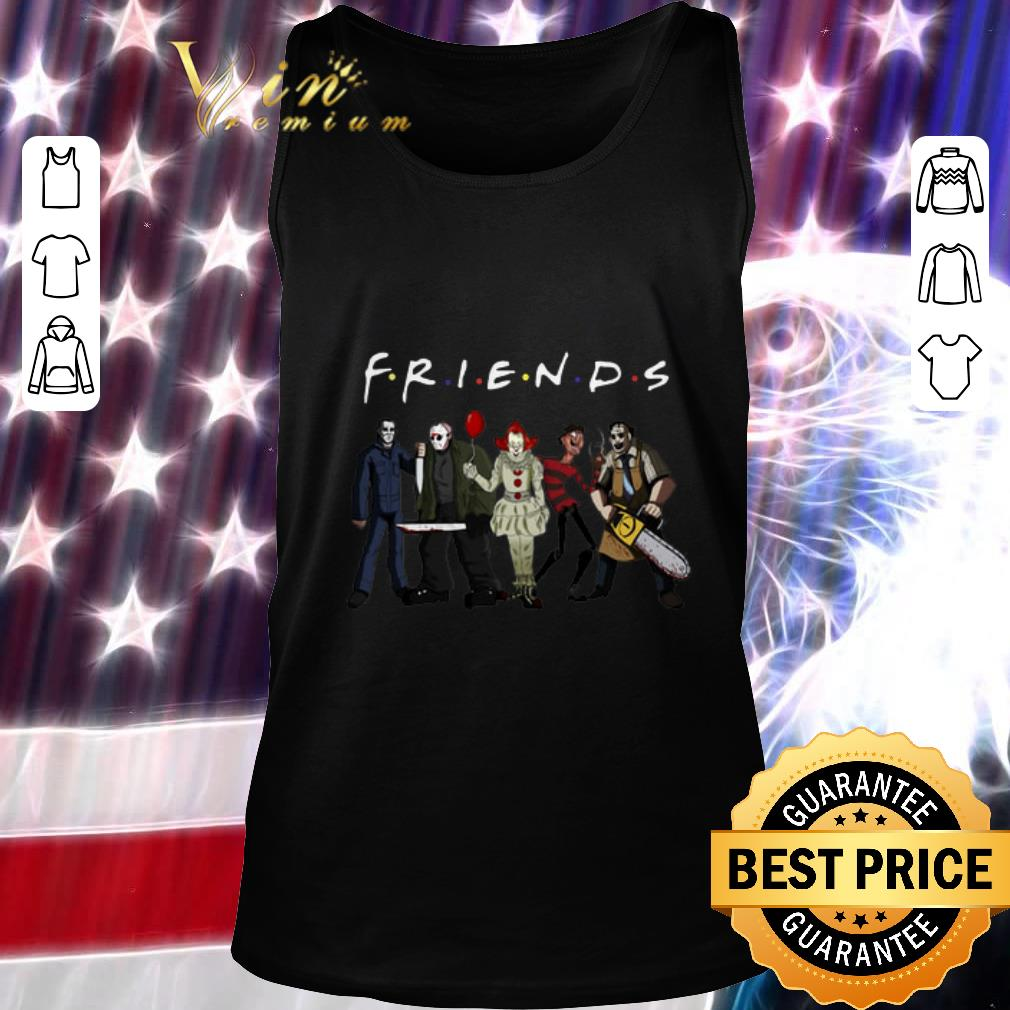 Nice Horror Characters Friends shirt