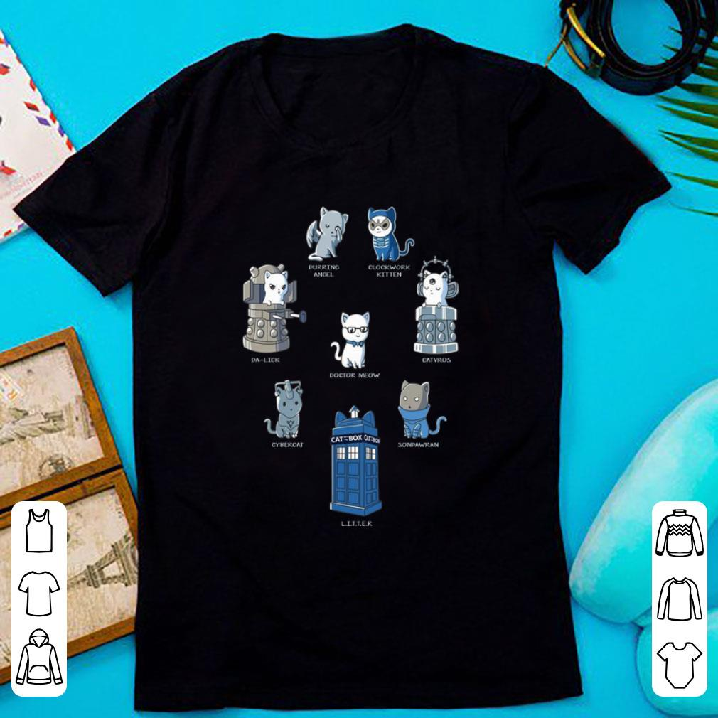 Nice Purring Angel Clockwork Kitten Da Lick Catvros Doctor Meow Shirt 1 1.jpg
