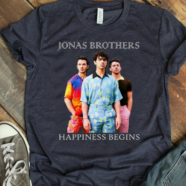 Official Jonas Brothers Tour Happiness Begins 2019 shirt
