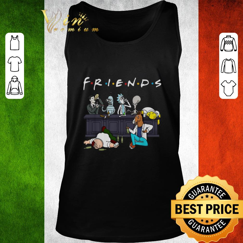 Premium Cartoon Characters Netflix Friends Tv Series shirt
