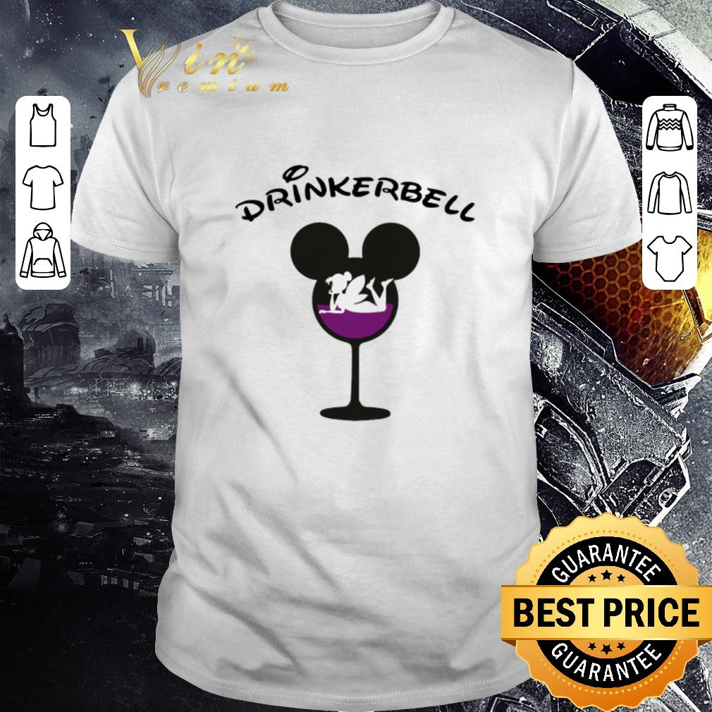 Premium Drinkerbell Mickey mouse glass shirt