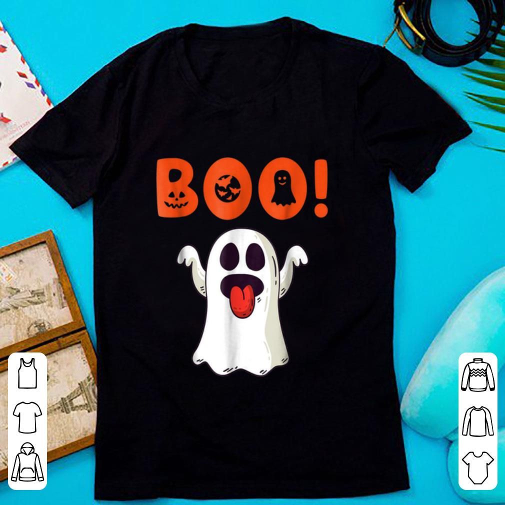 Premium Funny Boo Ghost For Halloween Day shirt