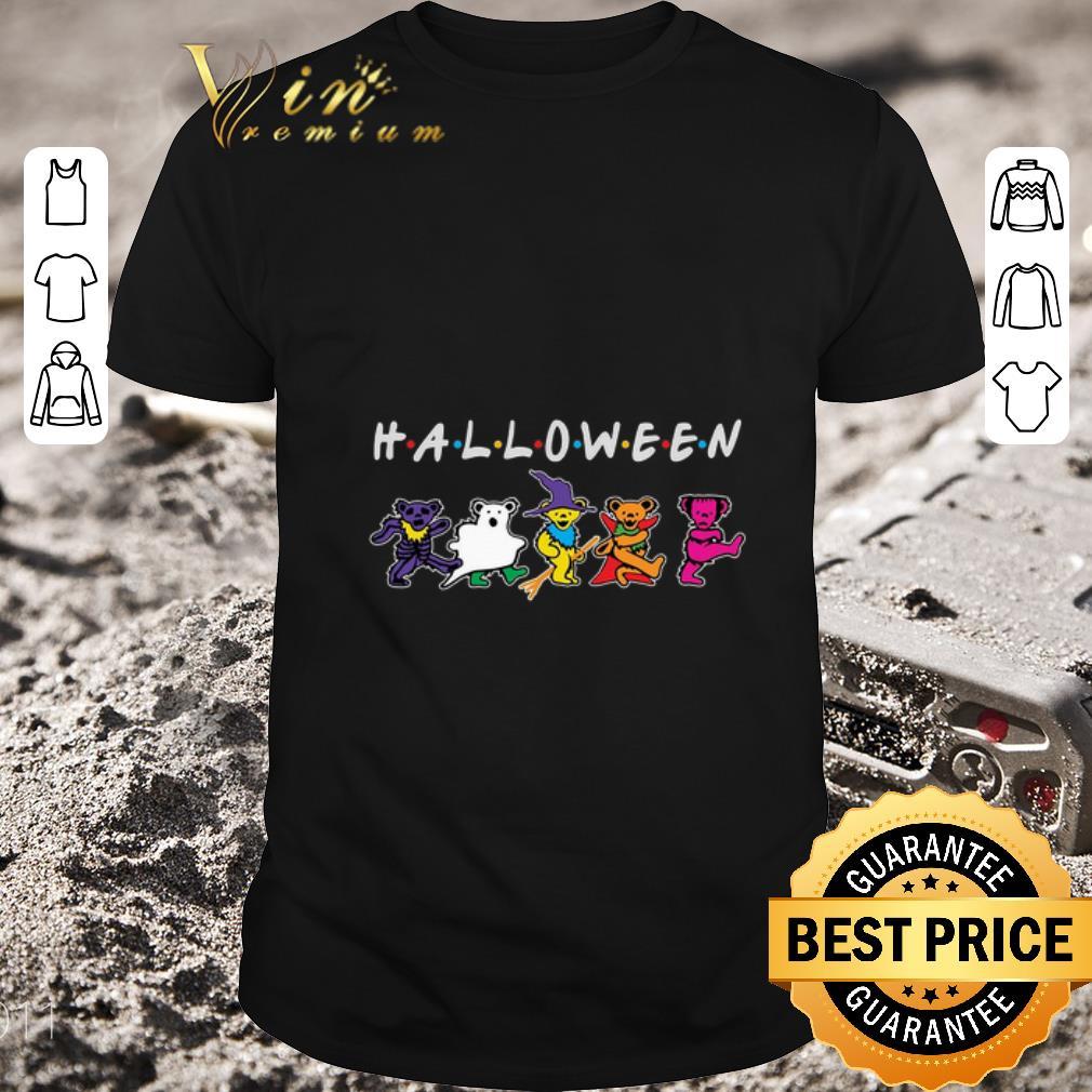 Premium Halloween Grateful Dead Dancing Bears Friends shirt