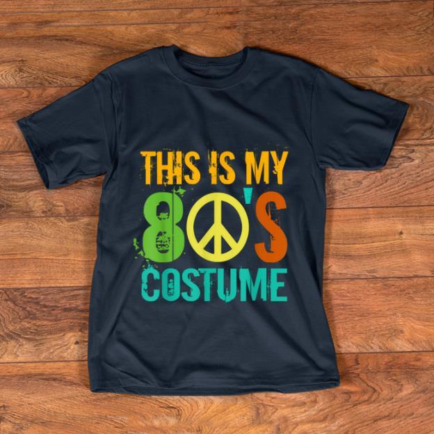 Premium This Is My 80's Costume Halloween Retro 1980s For Men Women shirt
